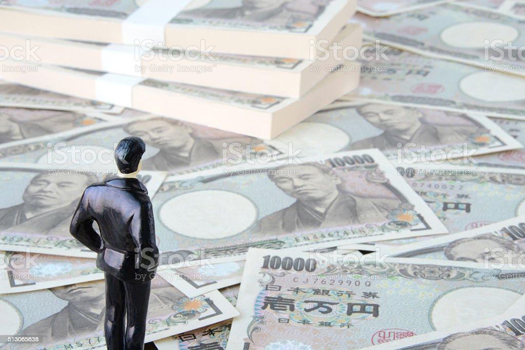 Prospects for Japanese economy stock photo