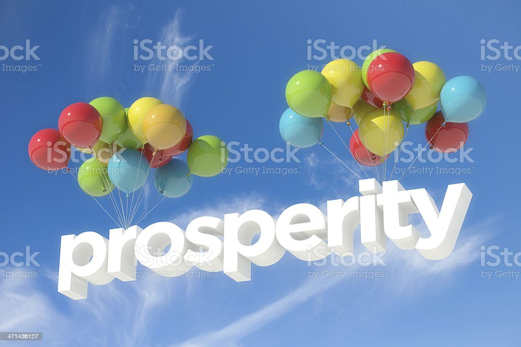 Prosperity stock photo