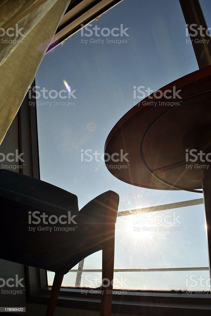 Prospettiva di una Sedia stock photo
