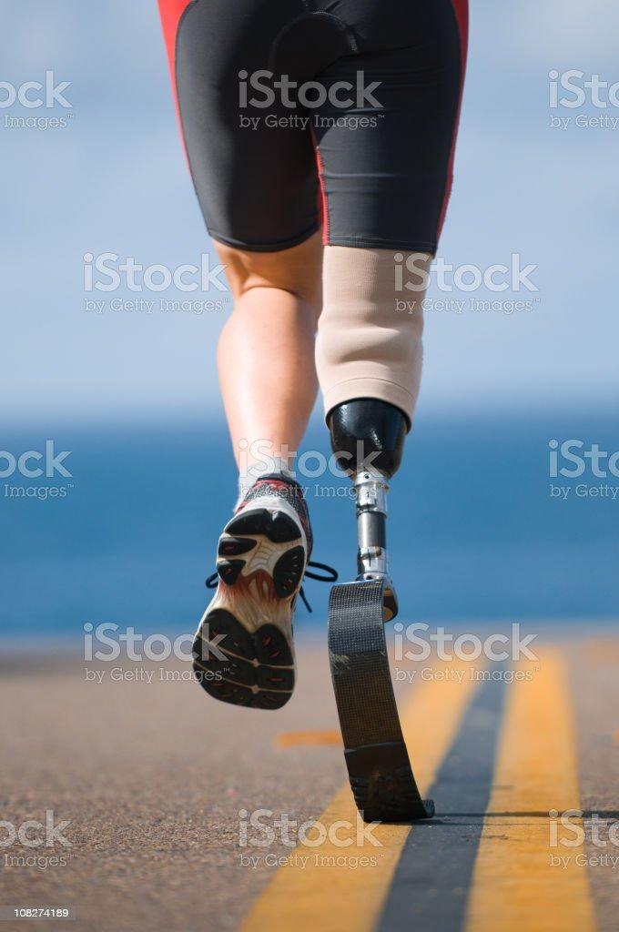 Prosthetic Leg royalty-free stock photo