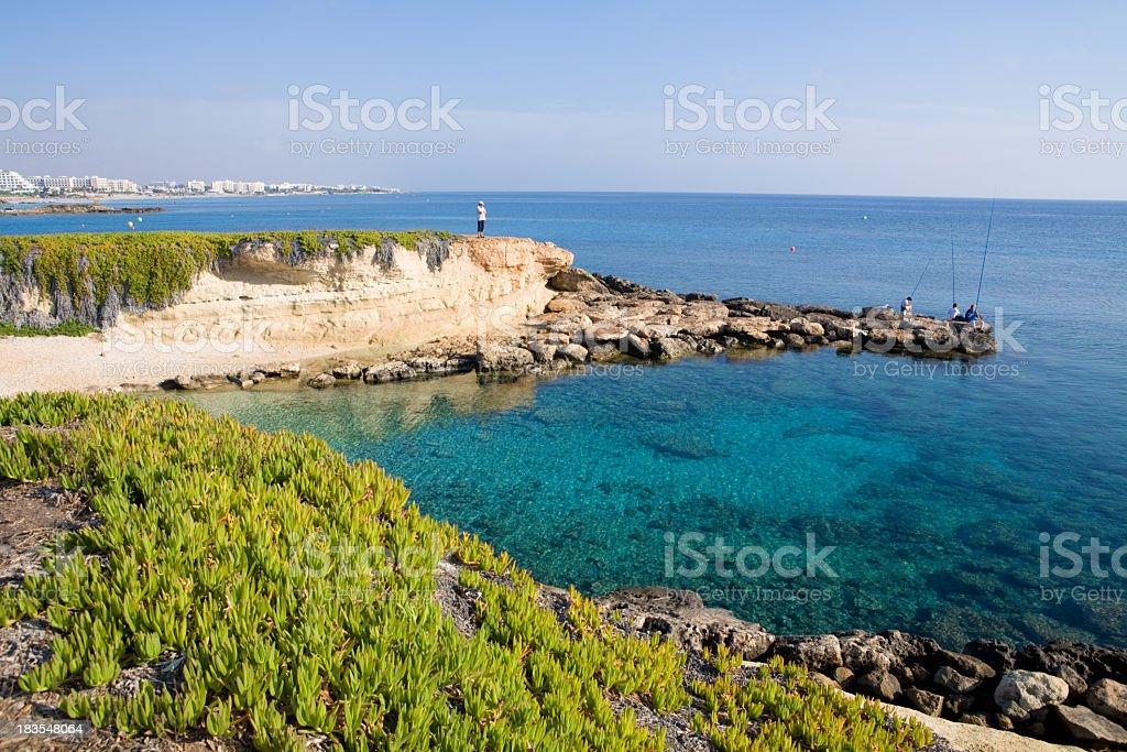 Protaras Cyprus - June, 2010 stock photo