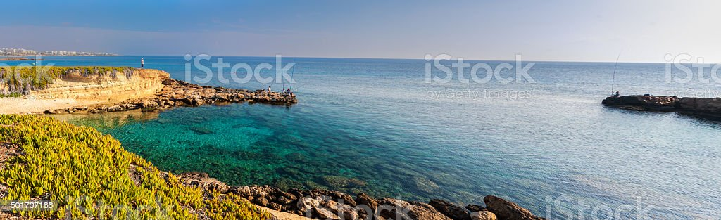 Protaras Cyprus stock photo