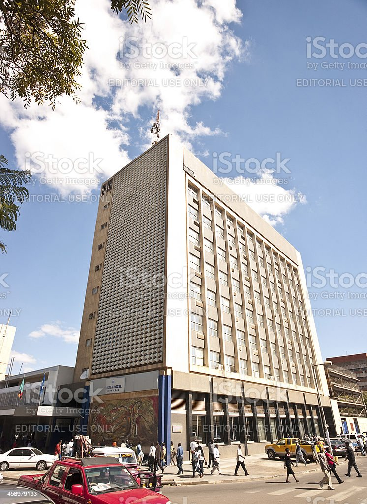 Protea Hotel, Lusaka stock photo
