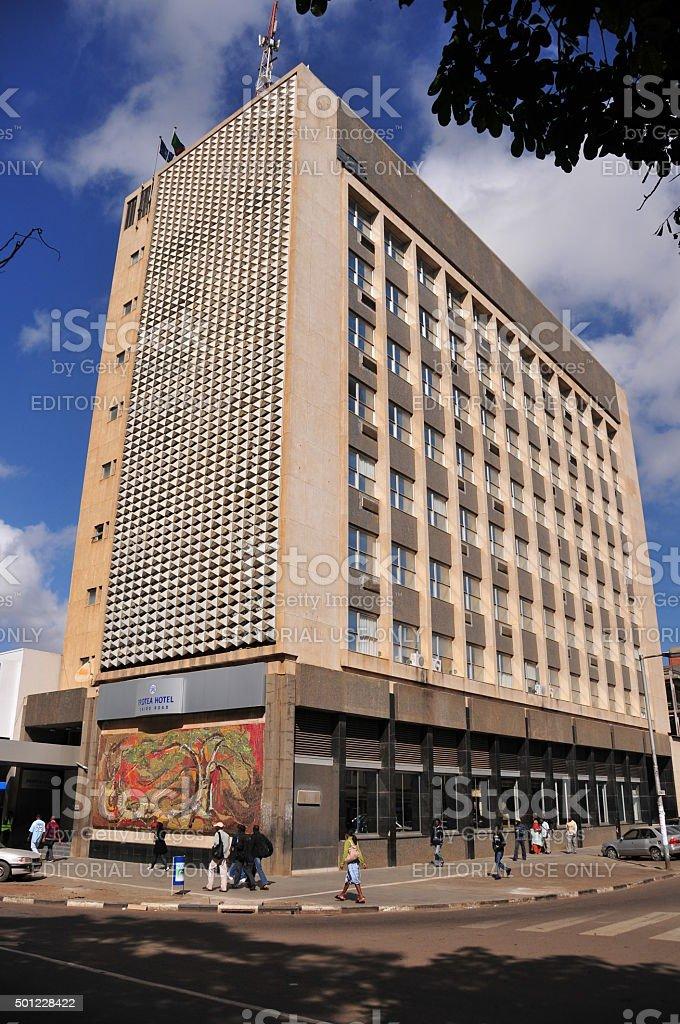 Protea Hotel, Lusaka stock photo