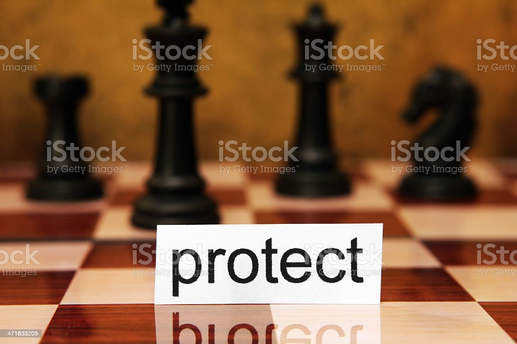 Protect concept royalty-free stock photo