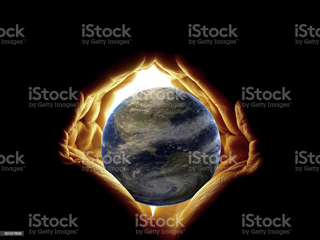 Protect Earth royalty-free stock photo