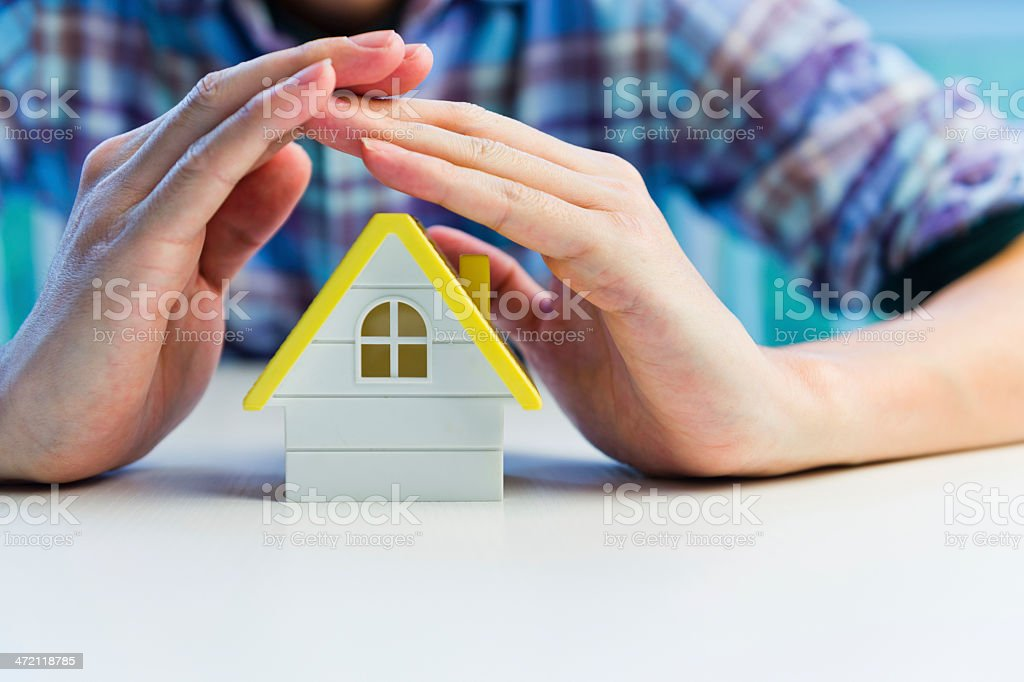 protect house stock photo