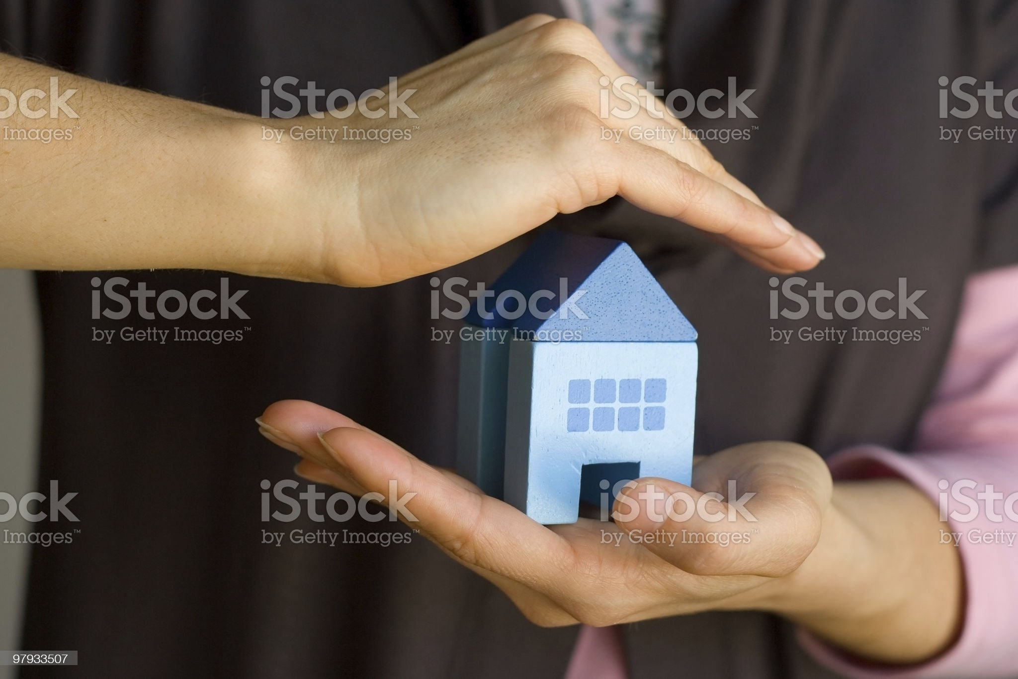 Protect House royalty-free stock photo