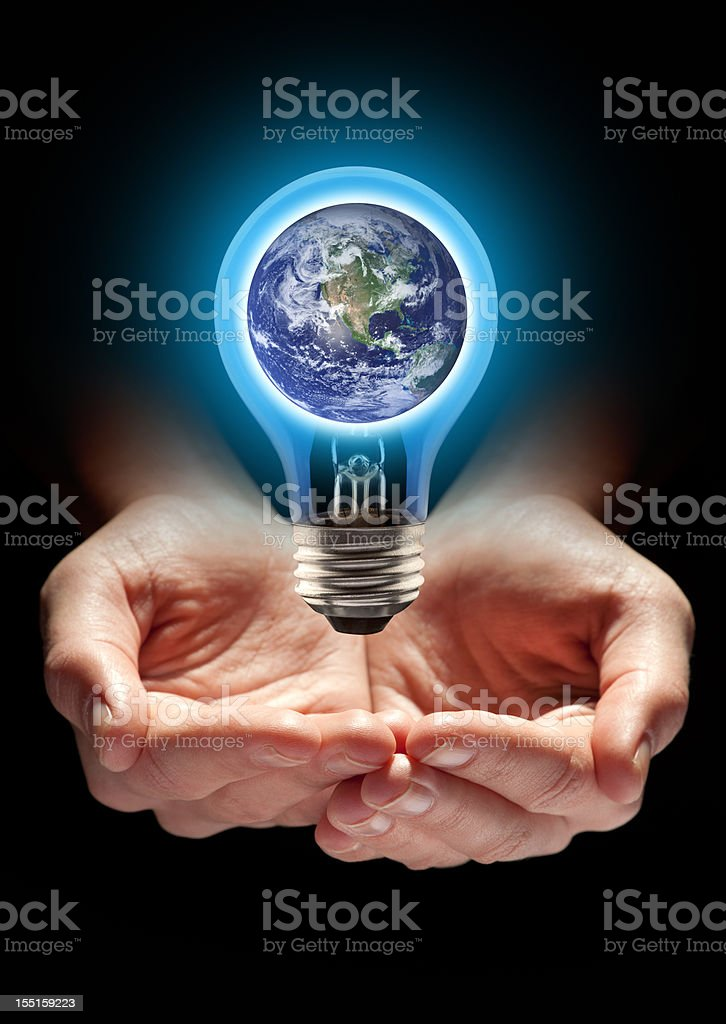 Protect Planet Earth, It's the Right Idea royalty-free stock photo