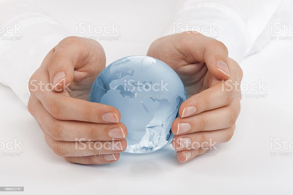 Protect the Earth royalty-free stock photo