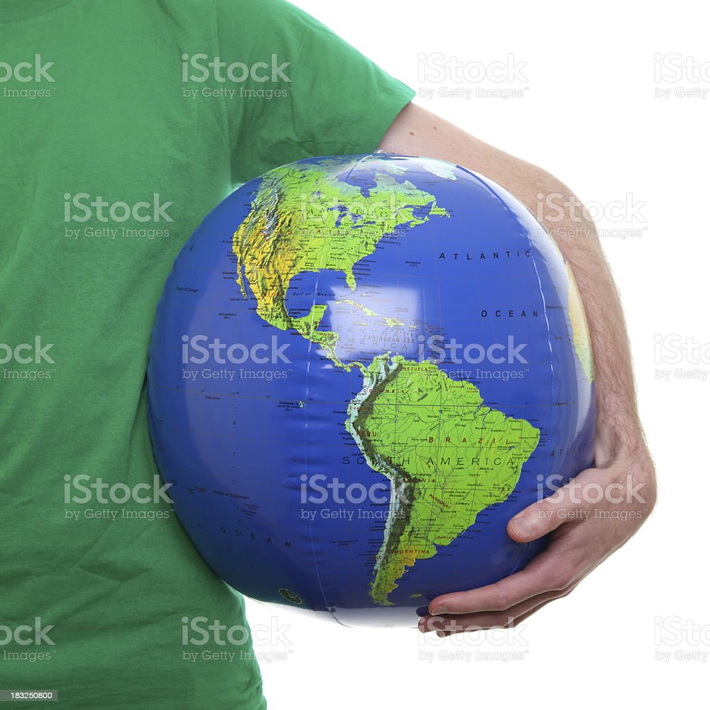 Protect the planet royalty-free stock photo