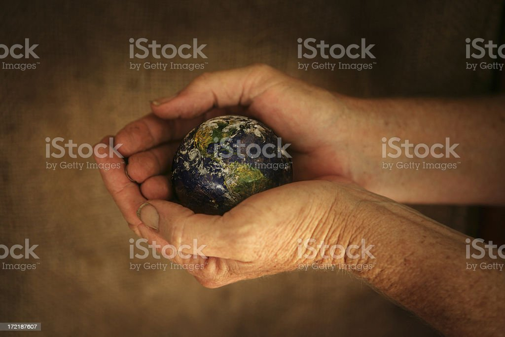 Protect the World royalty-free stock photo
