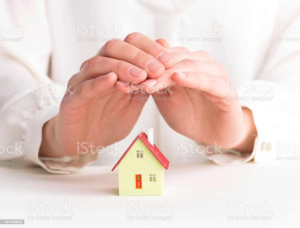 Protect Your House stock photo