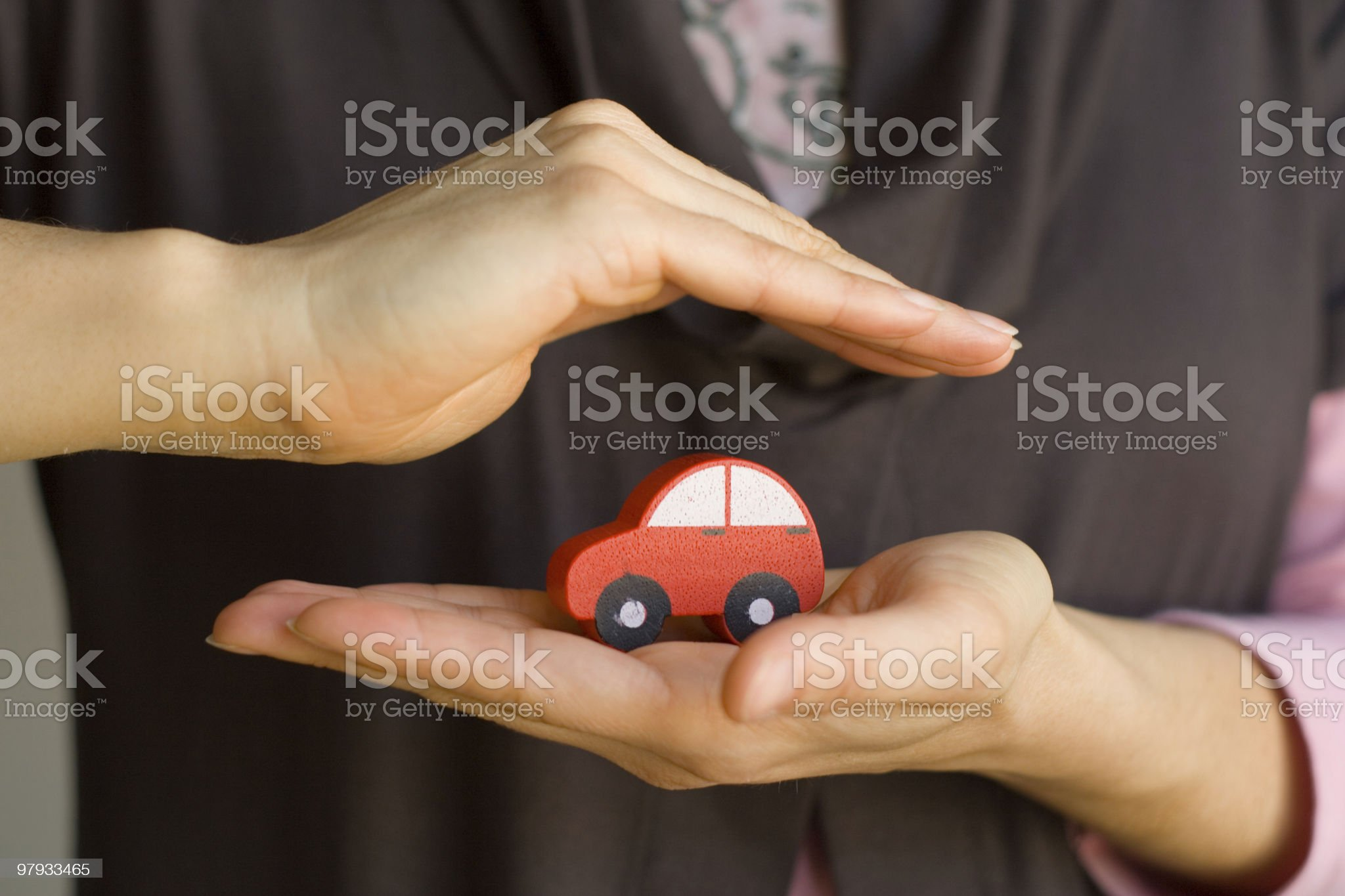 Protected Car royalty-free stock photo