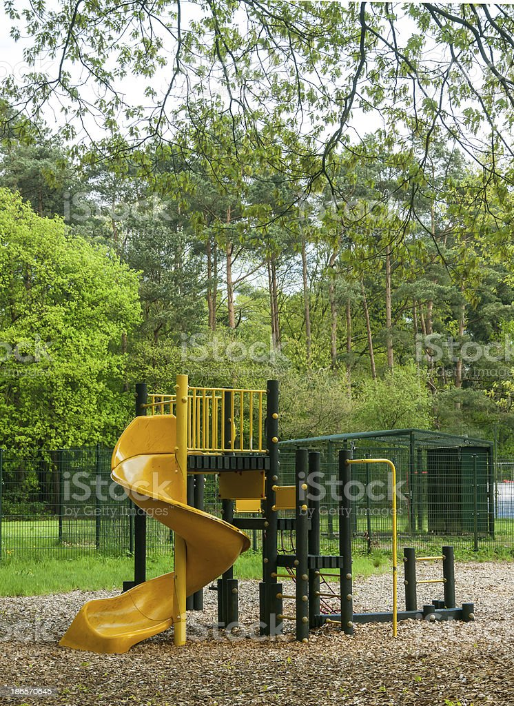 Protected playground royalty-free stock photo