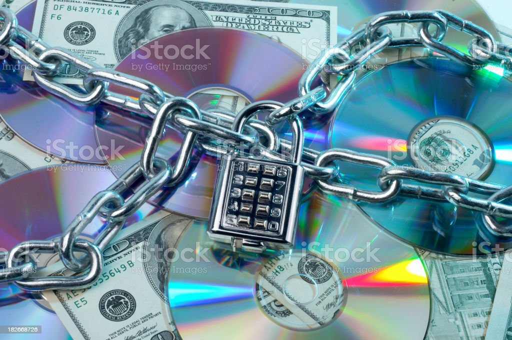 protecting intellectual rights 01 royalty-free stock photo