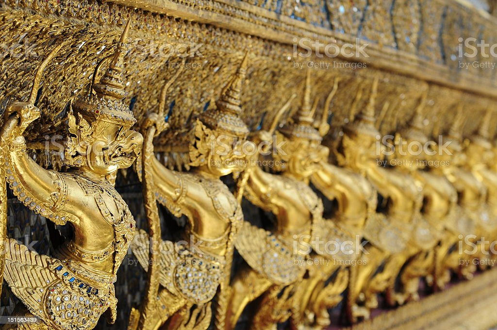 Protecting the grand palace royalty-free stock photo