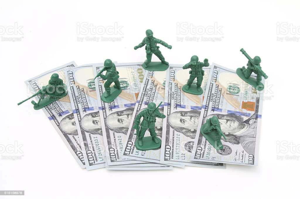 Protecting the US currency and economy stock photo