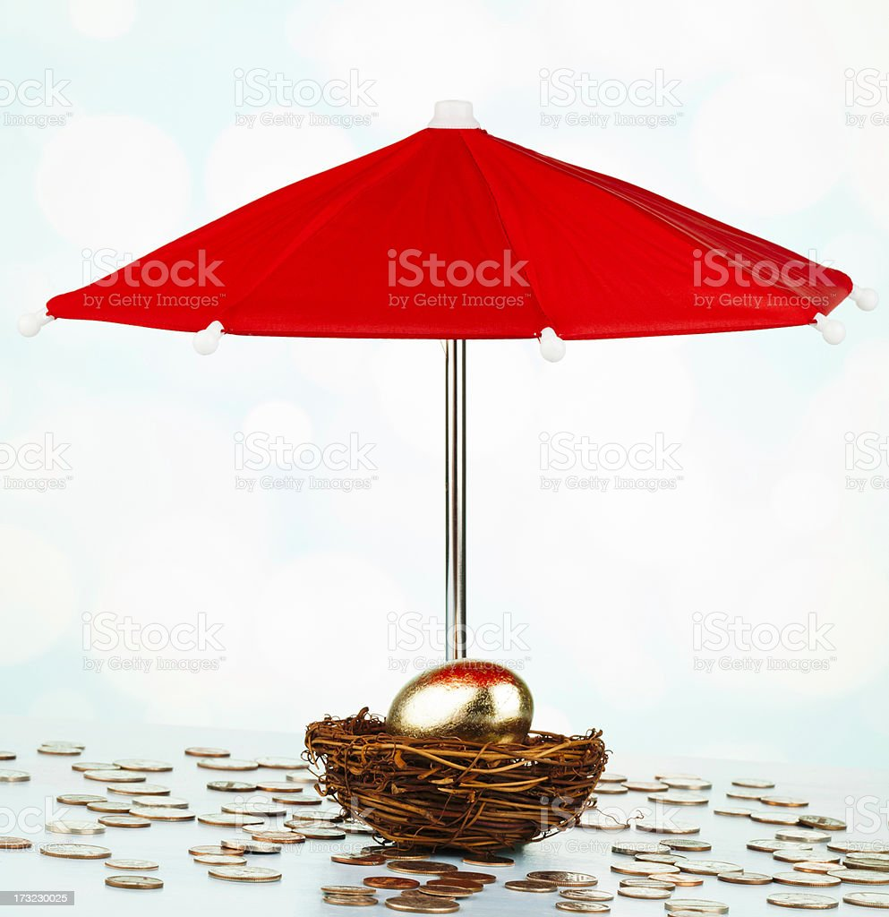 Protecting Your Investment royalty-free stock photo