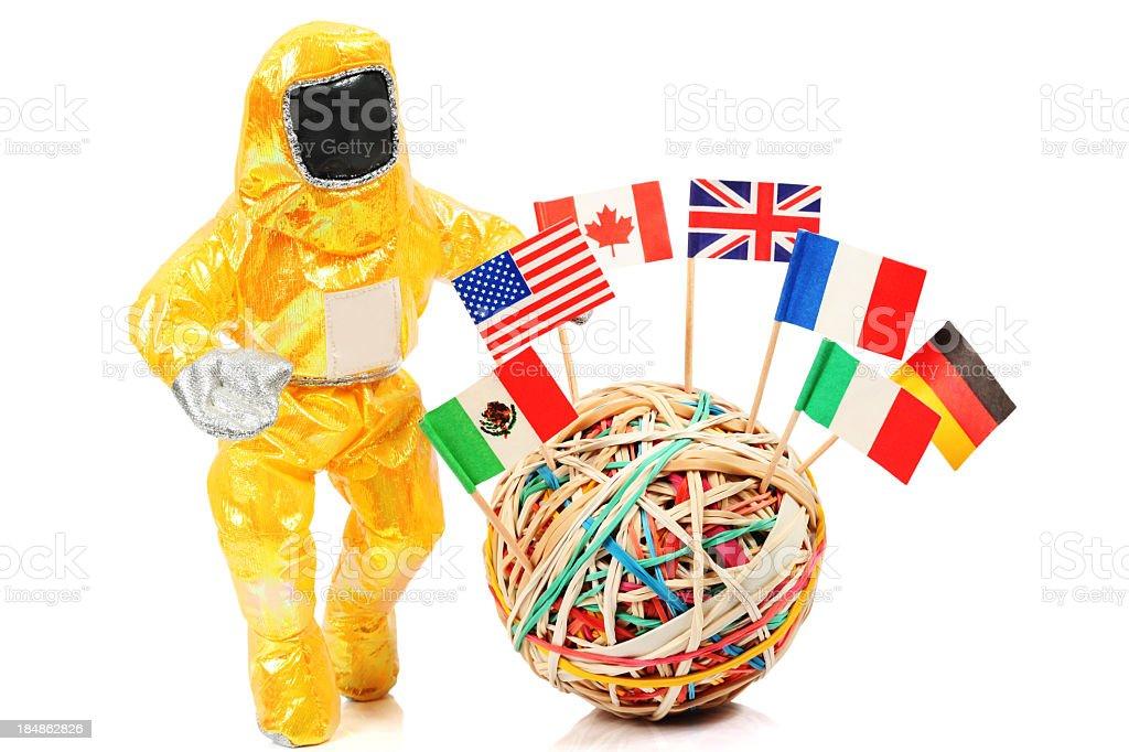 Protection and Contamination royalty-free stock photo