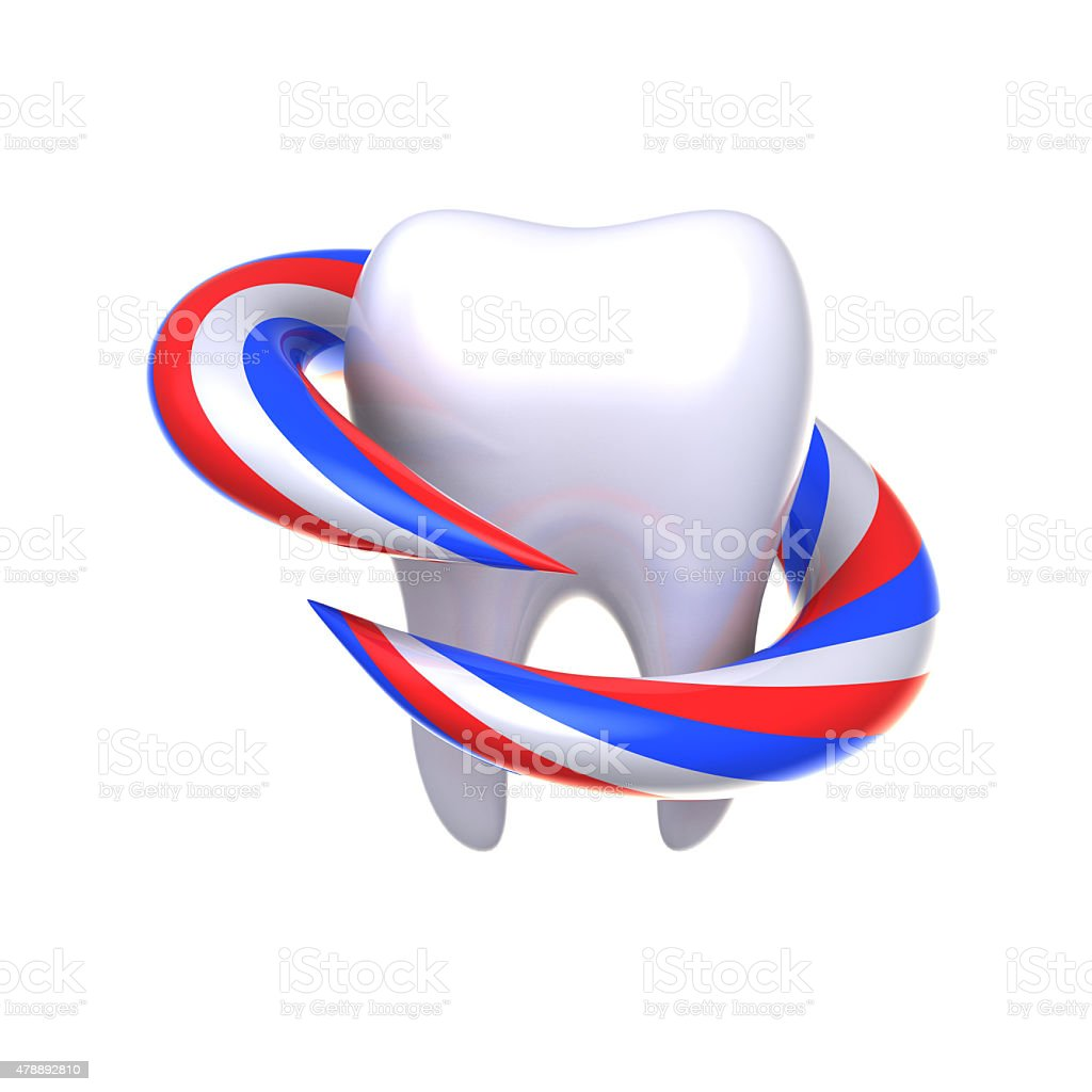 Protection and health of teeth. royalty-free stock vector art