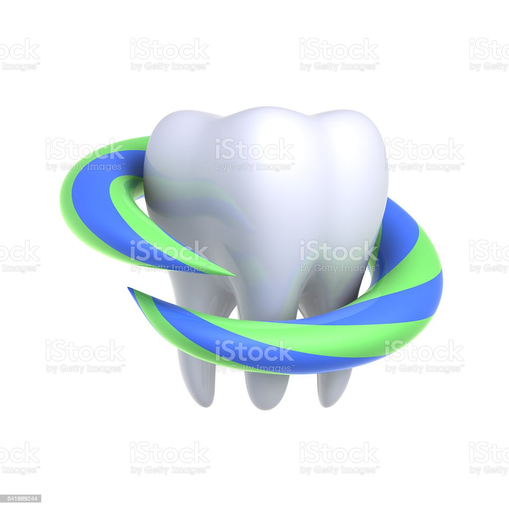 Protection and health of teeth. royalty-free stock photo