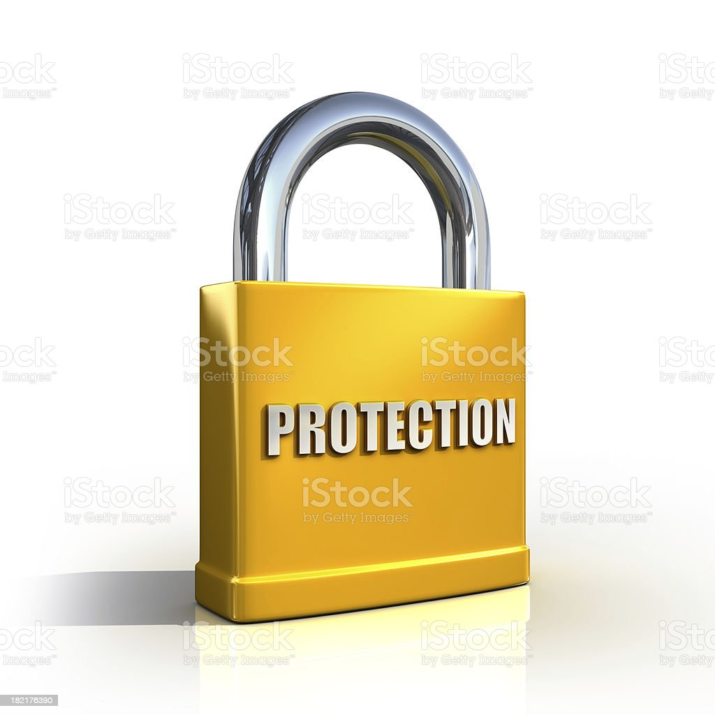 protection concept royalty-free stock photo