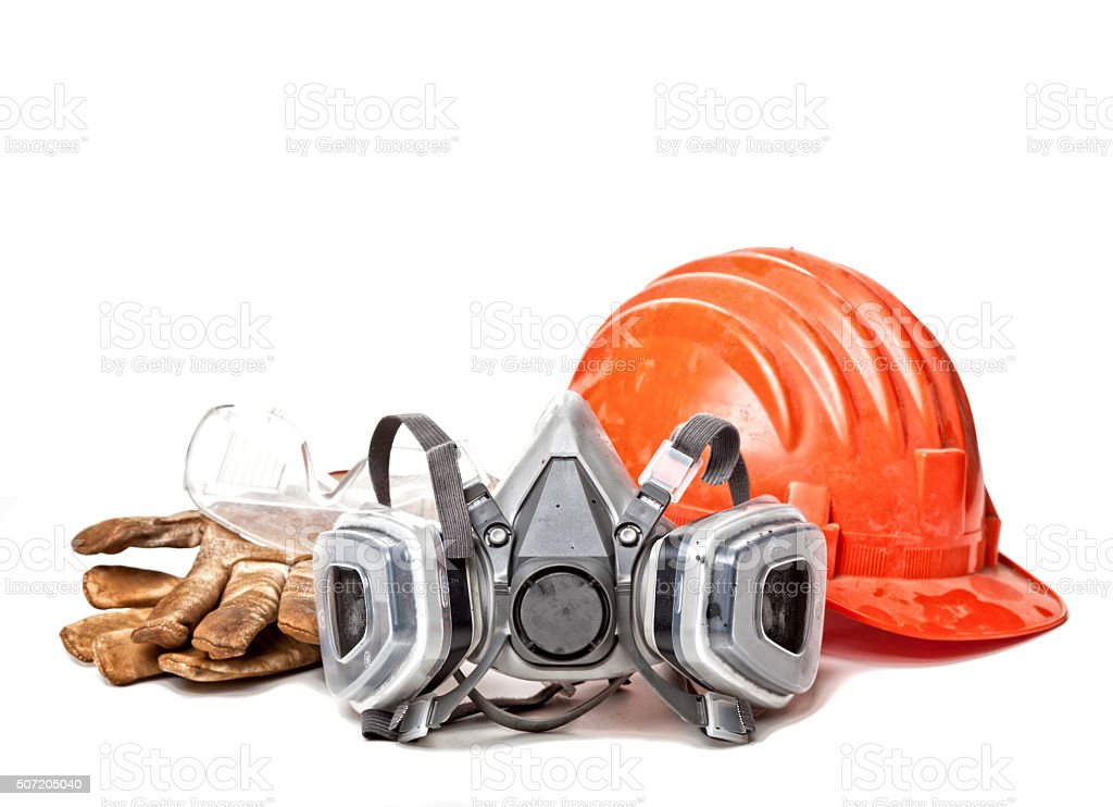 protection gear stock photo