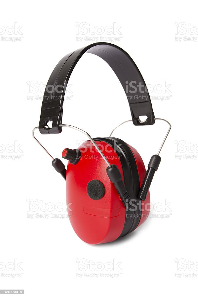 protection headphones royalty-free stock photo