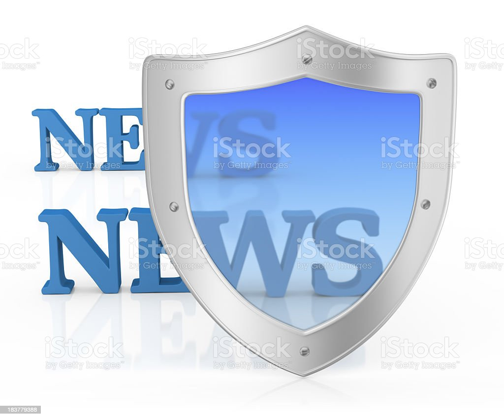 Protection News royalty-free stock photo