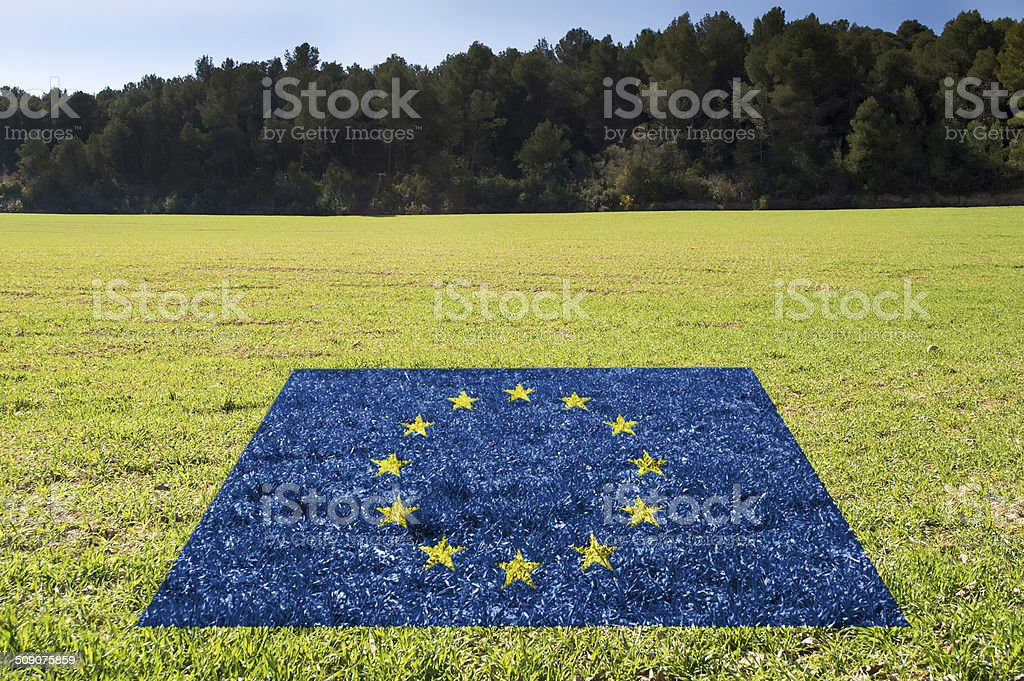 protection of environment in UE stock photo