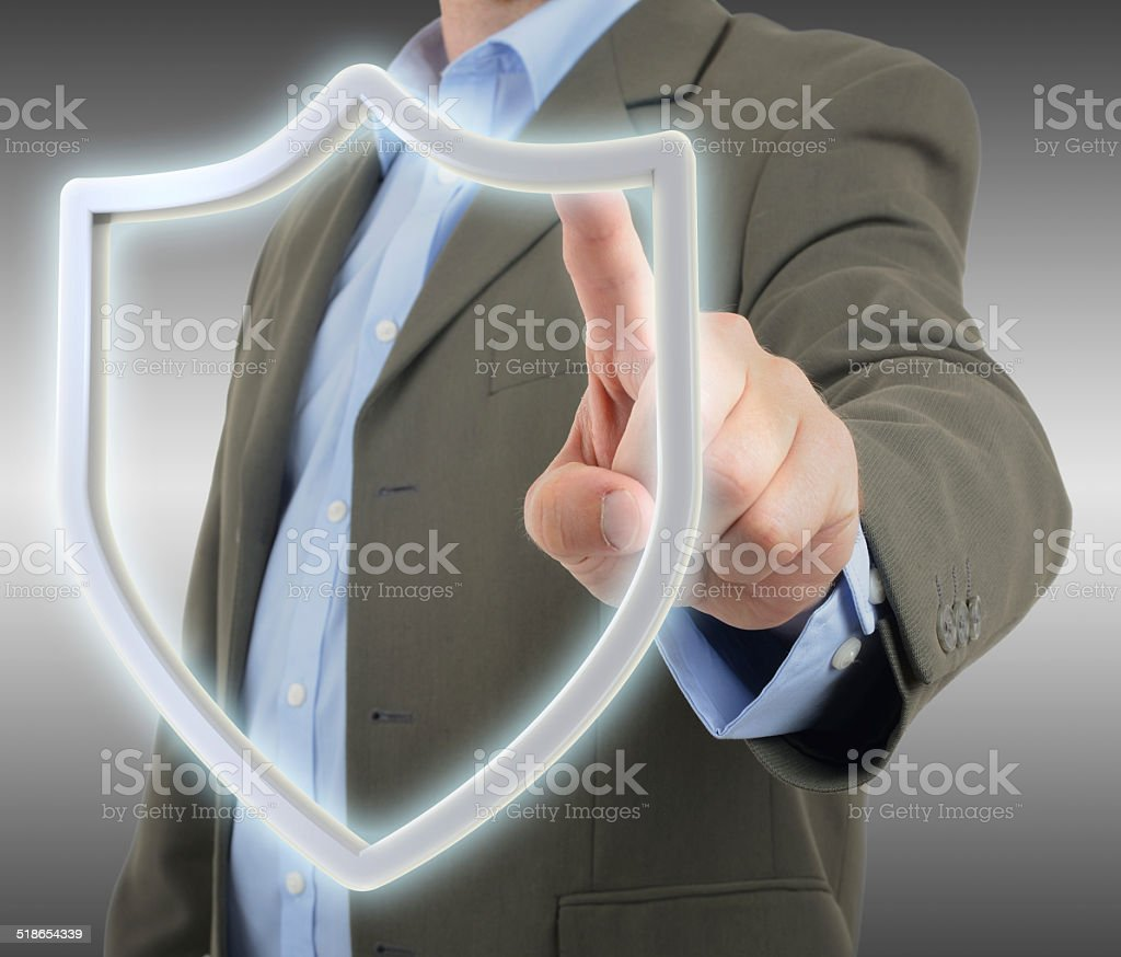 Protection on stock photo