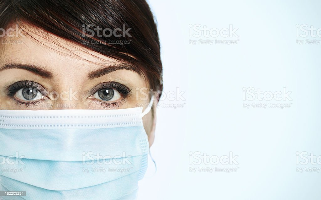 H1N1 Protection stock photo