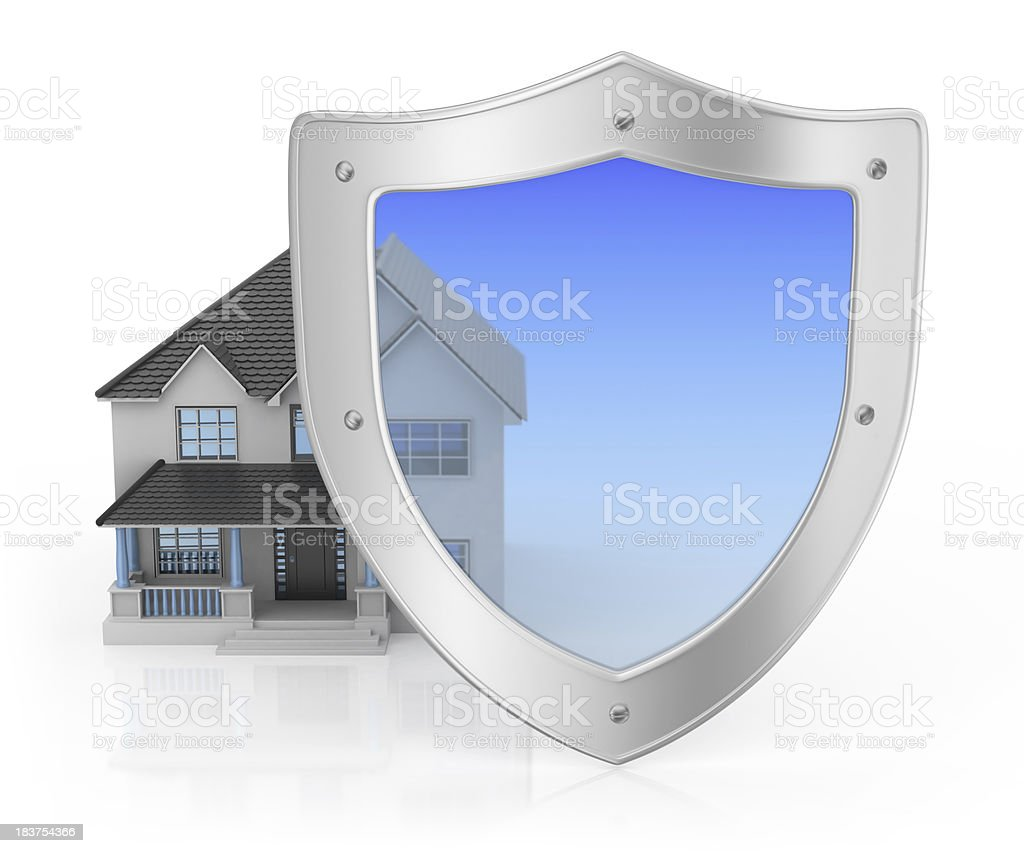 Protection Property royalty-free stock photo