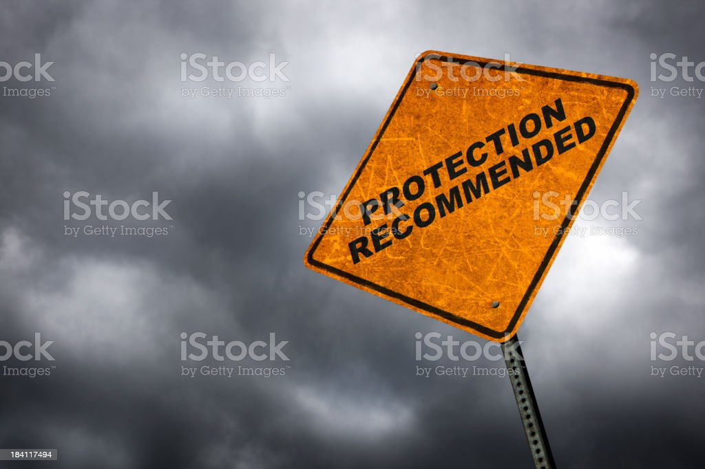 Protection Recommended stock photo