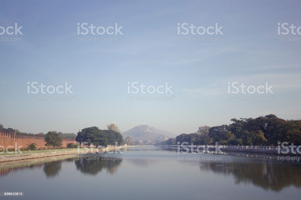Protective Canal stock photo