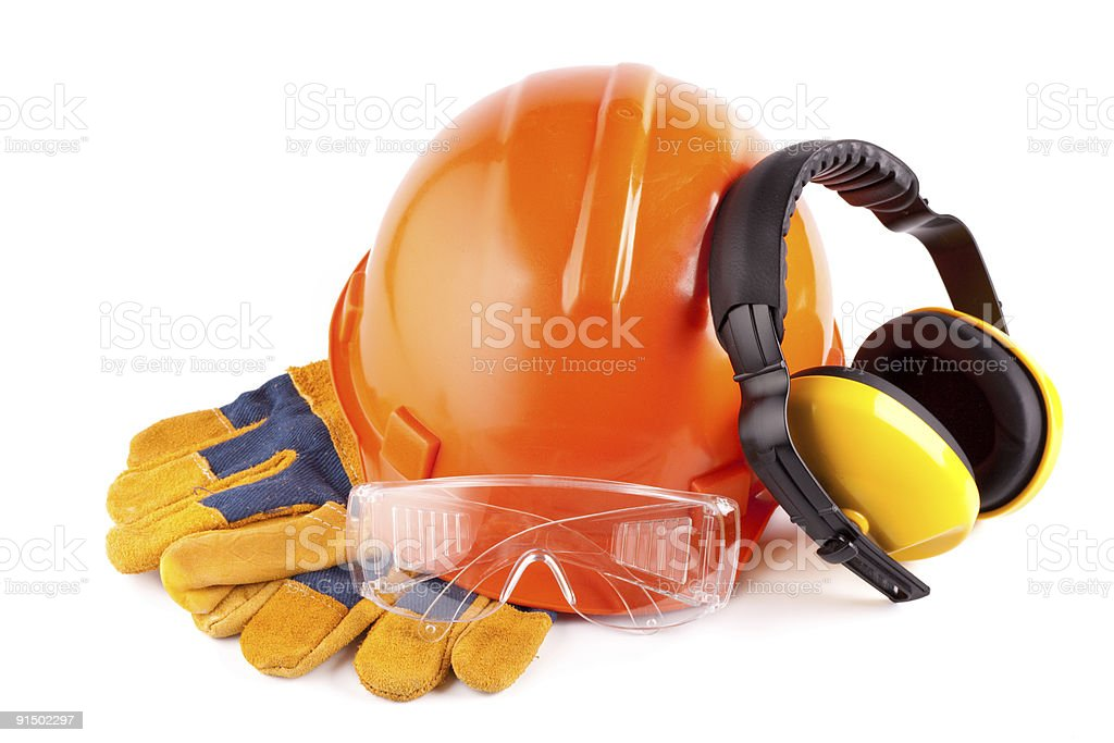 Protective clothes stock photo