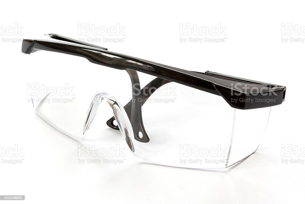 Protective eyewear glasses stock photo