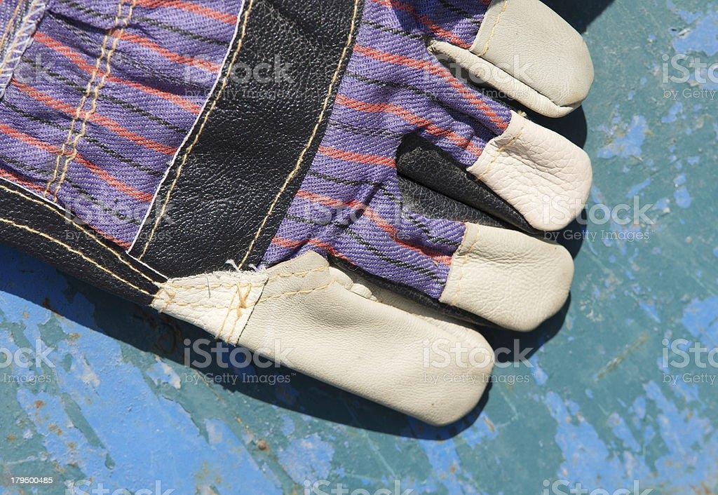 Protective glove royalty-free stock photo