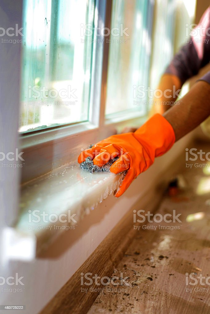 Protective Glove stock photo