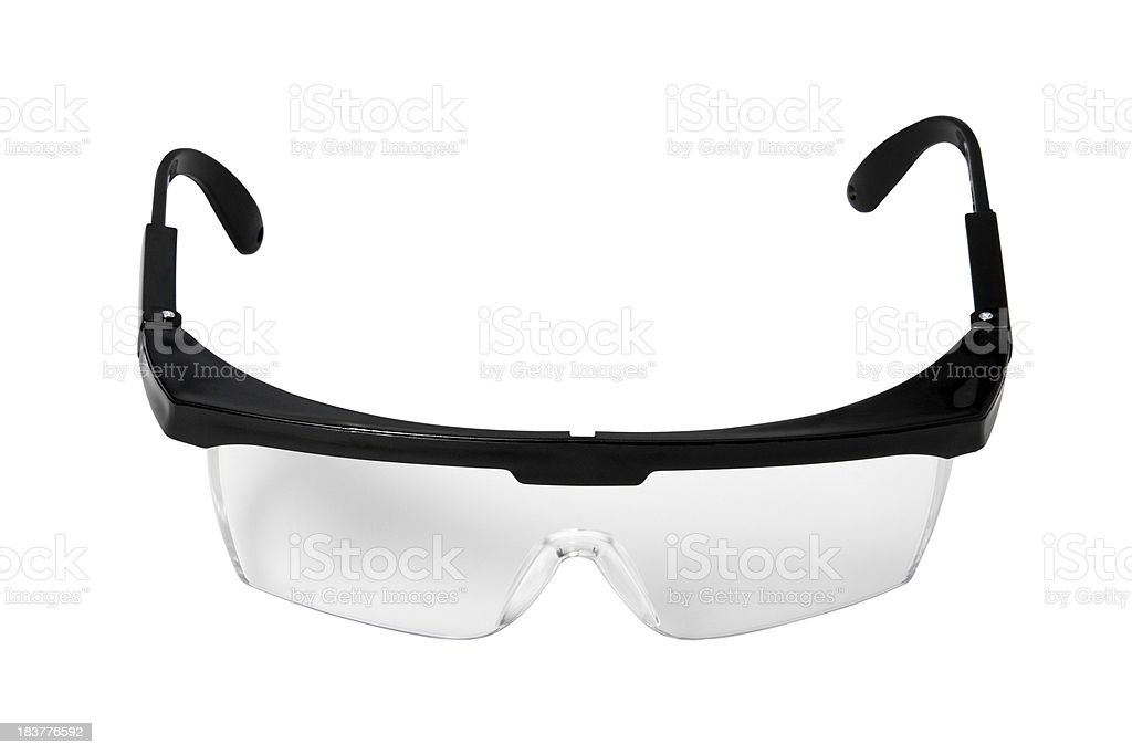 Protective goggles royalty-free stock photo