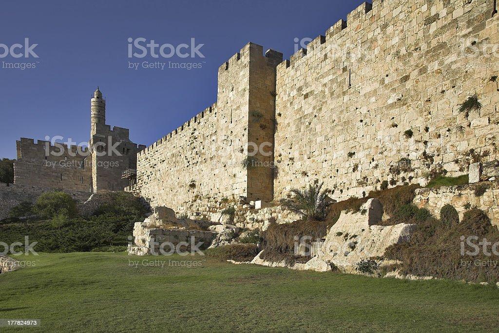 Protective wall. royalty-free stock photo