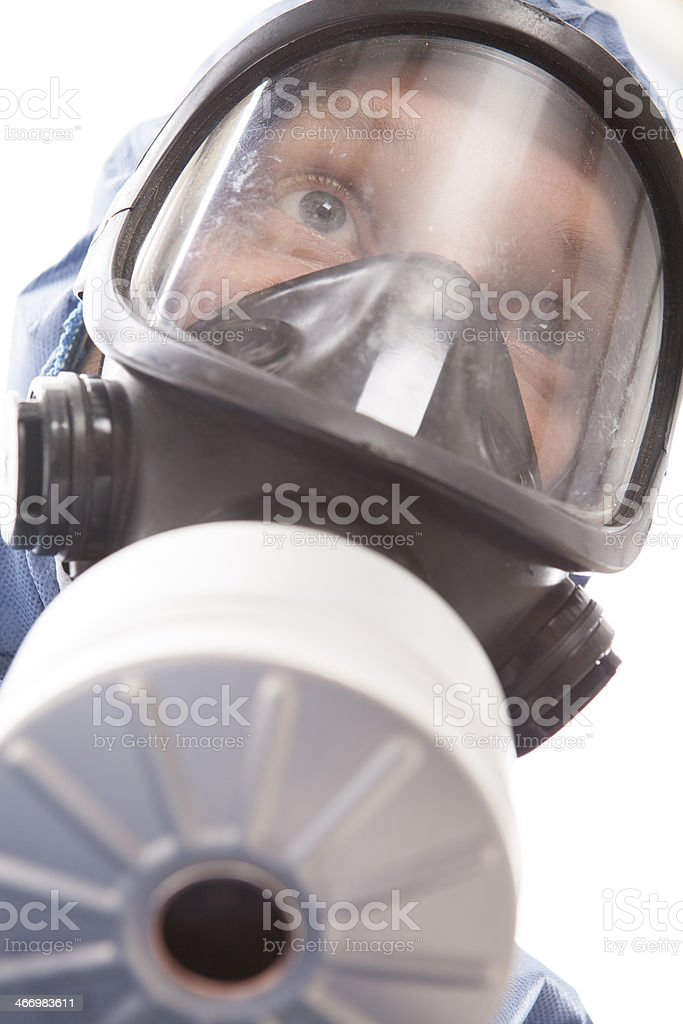 Protective workwear for manual worker. royalty-free stock photo