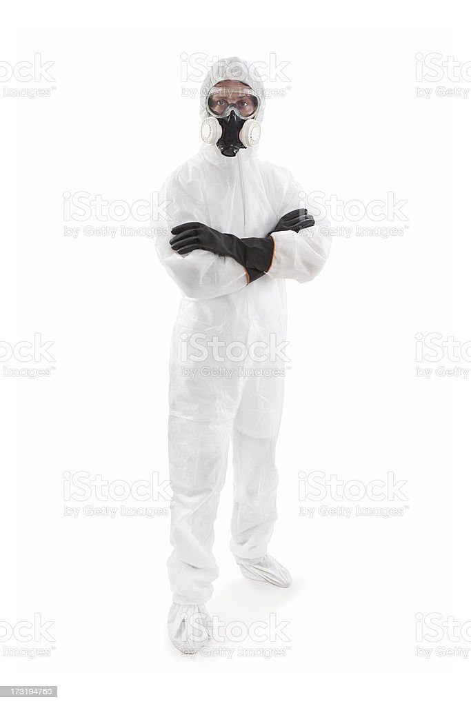 Protective Workwear royalty-free stock photo