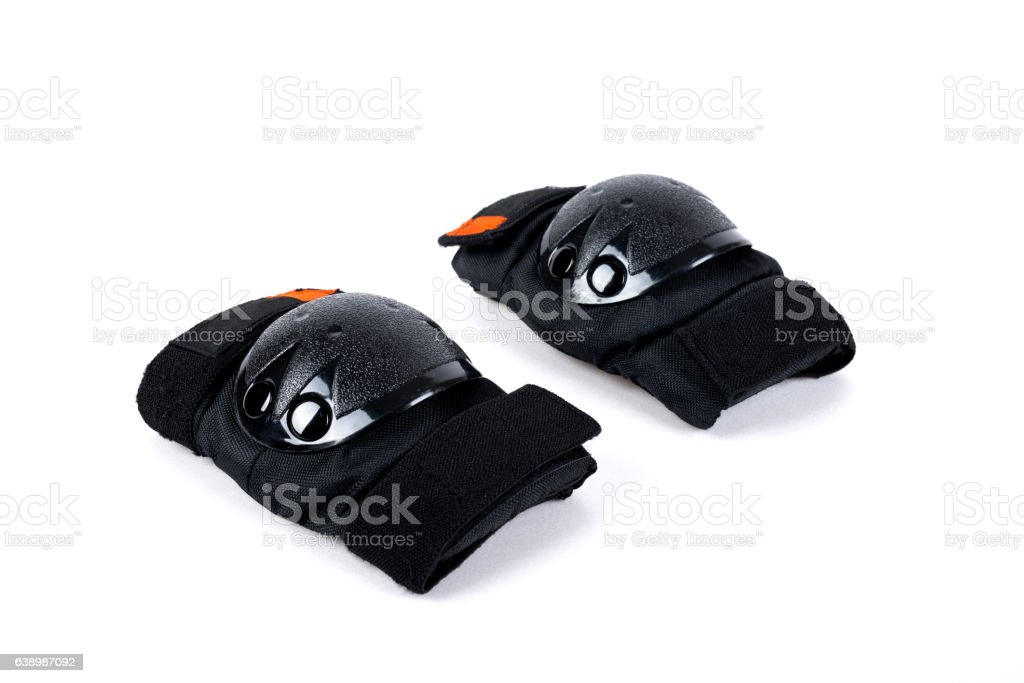 Protectors for knees and elbows stock photo