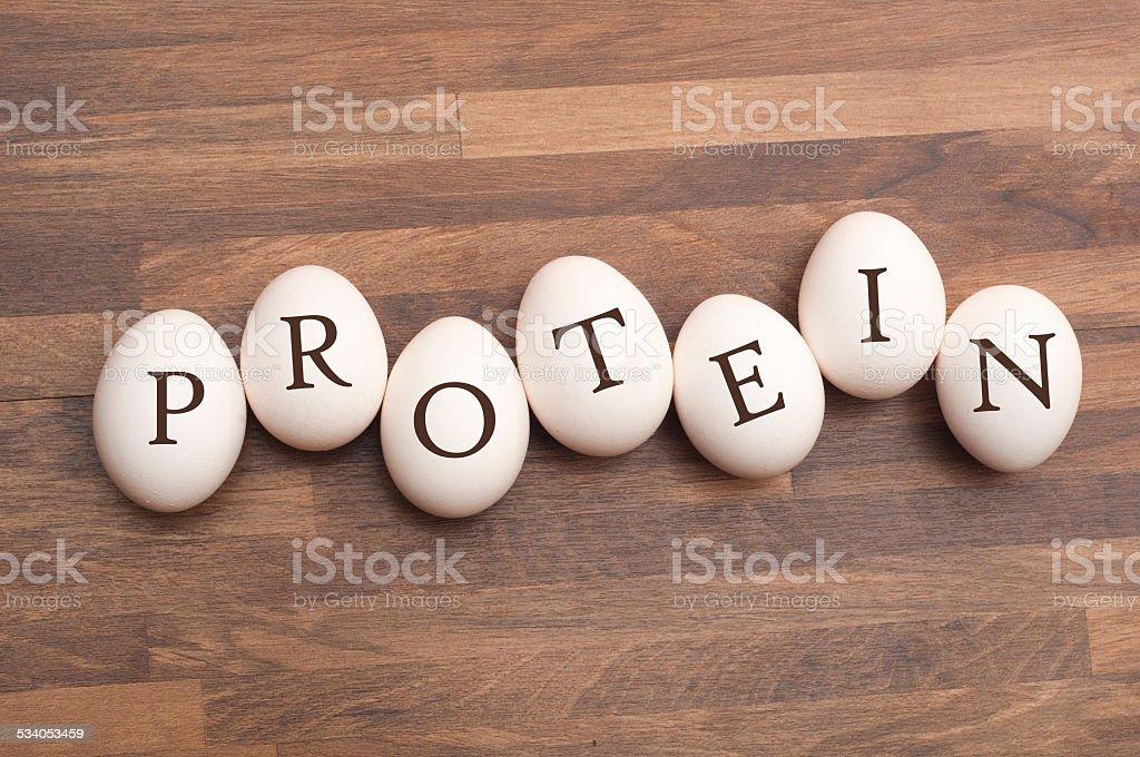 Protein stock photo