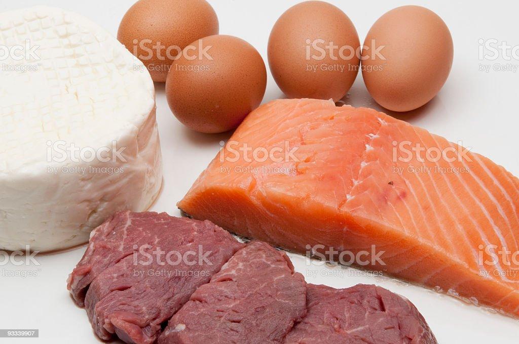 Protein royalty-free stock photo