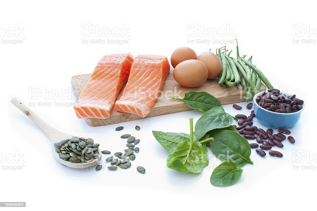 Protein superfood diet royalty-free stock photo