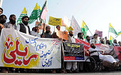 Protest against brutality by Indian Army over the Kashmiri Muslims