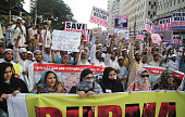 Protest against Muslim massacre in Burma